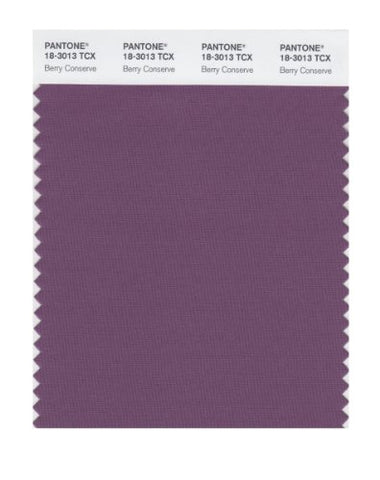 Pantone Smart 18-3013X Color Swatch Card, Berry Conserve