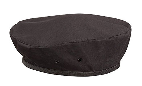Chef Works Unisex Beret, Black, One Size