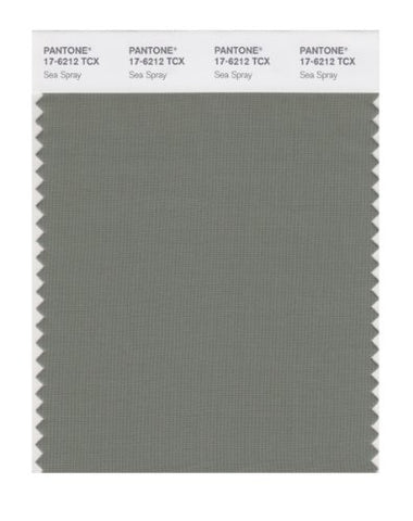 Pantone Smart 17-6212X Color Swatch Card, Sea Spray