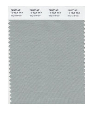 Pantone 15-4306 Tcx Smart Color Swatch Card, Belgian Block