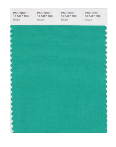 Pantone Smart 16-5427X Color Swatch Card, Billiard