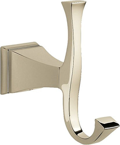 Delta Faucet 75135-Pn Dryden Robe Hook, Polished Nickel