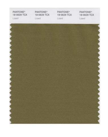 Pantone Smart 18-0629X Color Swatch Card, Lizard