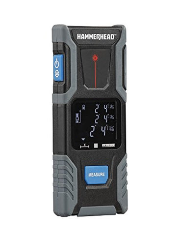 100Ft. Laser Measuring Tool  To  Hammerhead Hlmt100 100Ft Laser Distance Measure With Large Lcd Screen