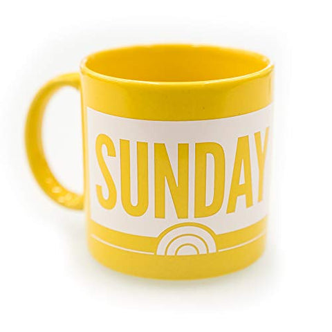 Sunday Today With Willie Geist Ceramic Mug
