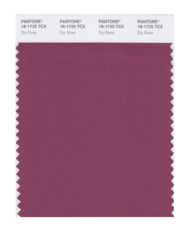 Pantone Smart 18-1725X Color Swatch Card, Dry Rose