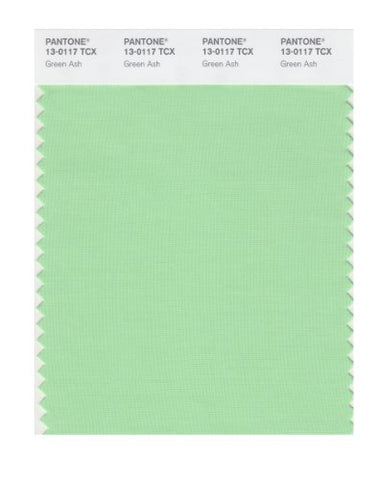 Pantone Smart 13-0117X Color Swatch Card, Green Ash
