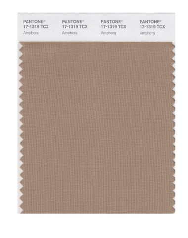Pantone Smart 17-1319X Color Swatch Card, Amphora