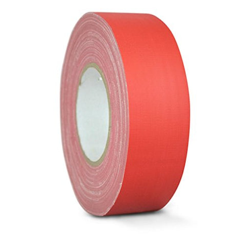 T.R.U. Cgt-80 Red Gaffers Stage Tape With Rubber Adhesive, 2 In. Wide X 60 Yards Length, 12Mil Thickness