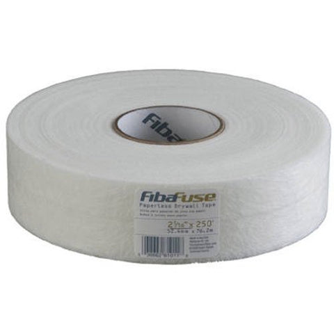 Fibafuse  Fdw8201-U 2-1/16-Inch By 250-Feet Paperless Drywall Tape, White