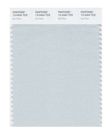 Pantone Smart 13-4404X Color Swatch Card, Ice Flow