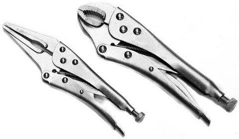 Tradespro 836602 Jaw Locking Pliers, 2-Piece