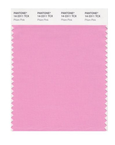 Pantone Smart 14-2311X Color Swatch Card, Prism Pink