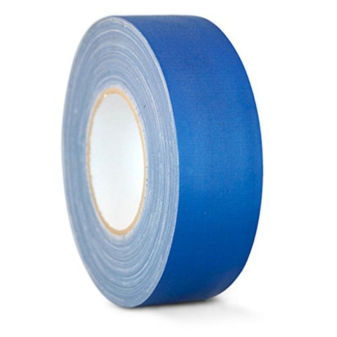 T.R.U. Cgt-80 Dark Blue Gaffers Stage Tape With Rubber Adhesive, 2 In. Wide X 60 Yards Length, 12Mil Thickness