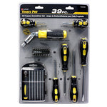 Tradespro 836590 All Purpose Screwdriver Set, 39-Piece