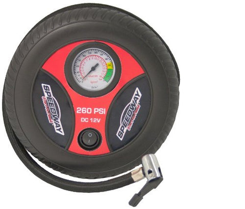 Speedway 9517 Psi Tire Inflator With Onboard Storage Plus Inflation Accessories