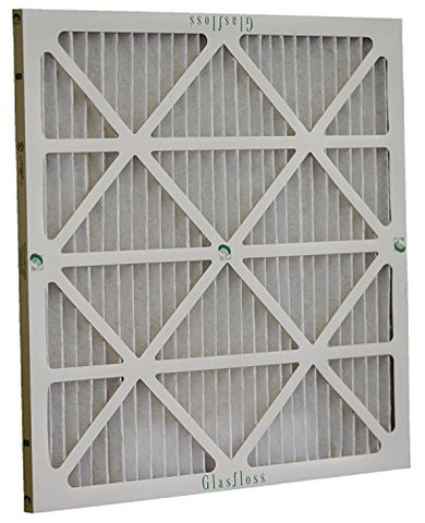 Glasfloss Industries Zlp16242 Z-Line Series Zl Merv 10 Pleated Filter, 12-Case