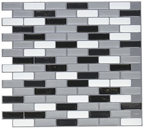 Quinco Sm1030-1 Tile Wall Metallik, 8 Piece