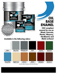 Diamond Brite Paint 31300 1-Gallon Oil Base All Purpose Enamel Paint   Tile Green