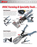 Wiss Ws6 6-Inch Straight Handle - Hvac Hand Seamer