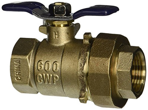 Febco 781-288Ll 3/4  U622F Ball Valve With Union