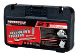 Powerbuilt 640190 Metric 3/8-Inch Drive Socket Set, 21-Piece