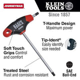 1/2-Inch Ball End Hex Key With Journeyman T-Handle, 6-Inch Klein Tools Jth6E17Be