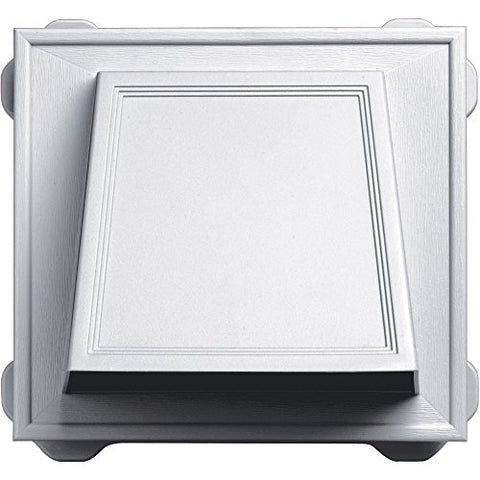 Builders Edge 140056774001 Vent, White