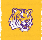 Duck Brand 240863 Louisiana State University College Logo Duct Tape, 1.88-Inch By 10 Yards, Single Roll