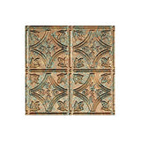Fasde Easy Installation Traditional 1 Copper Fantasy Glue Up Ceiling Tile/Ceiling Panel (2' X 4' Tile)