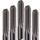 Champion Cutting Tool Industrial Quality High Speed Steel Tap Set:308-1-64-S (Includes Tapper, Bottom, Plug)