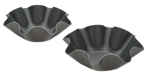 Chicago Metallic Non-Stick Large Tortilla Shell Pans, Set Of 2