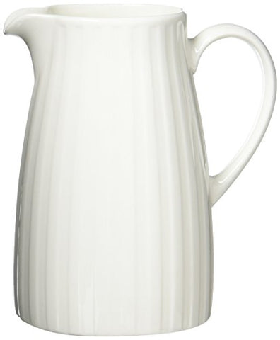 Wedgwood Night &Amp; Day Bone China Fluted Jug