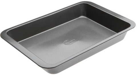 Range Kleen B05Br 9 X 13 Inches Non-Stick Bake And Roast Pan, Grey