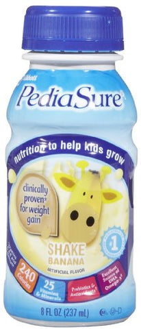 Pediasure Banana Cream, 8 Oz. Bottle