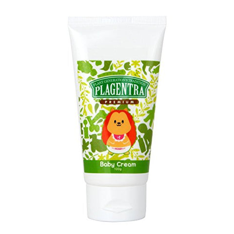Plagentra Baby Moisture Cream - Natural, 3.52 Ounce