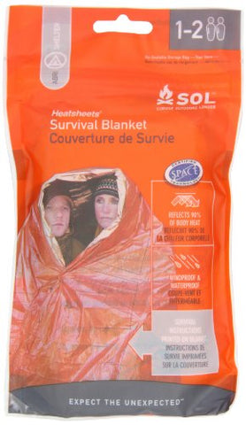 Adventure Medical Kits Sol Survival Blanket, Two Person, 3.2-Ounce