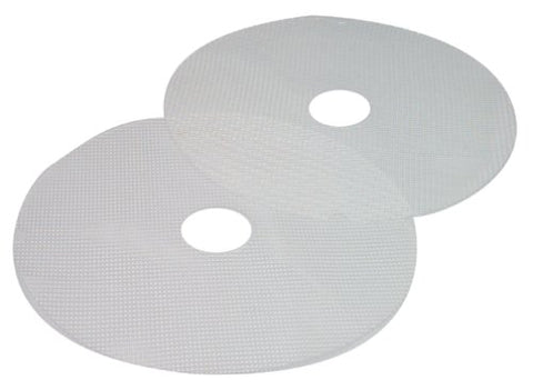 Nesco Ms-2-6 Clean-A-Screen For Dehydrators Fd-1010/Fd-1018P/Fd-1020, Large, Set Of 2, White