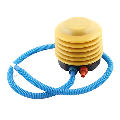 Uxcell A14102400Ux0688 Blue Plastic Housing Foot Air Bellows Pump Aerate For Yoga Balls Plastic