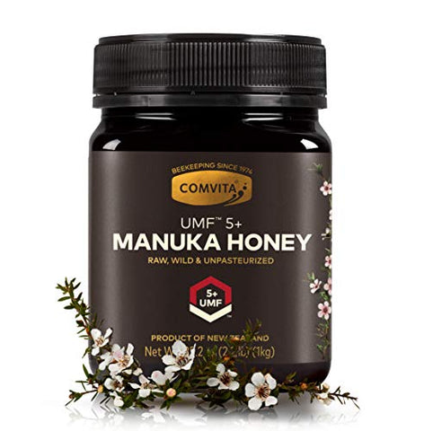 Comvita Certified Umf 5+ (Mgo 83+) Manuka Honey I New Zealand'S #1 Manuka Brand I Raw, Non-Gmo, Halal, And Kosher I Authentic I Best Value (35.2 Oz)