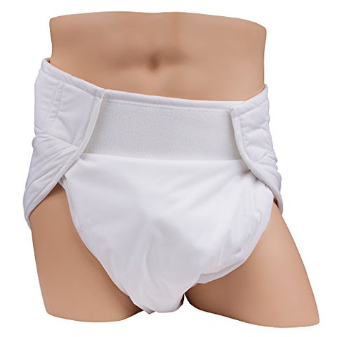 Leakmaster Adult Sized Contoured All In One Cloth Diapers - X Small
