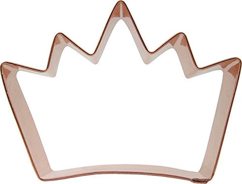 Coppergifts: Crown Cookie Cutter (Small)