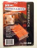 Clear Book Protector Cover With Book Marker And Magnifier