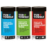 Tub O Towels Variety Pack, 40 Wipes, 3 Count