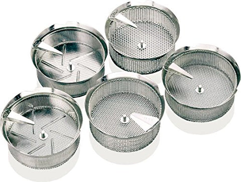 Paderno World Cuisine Sieve For 8-Quart Tin Food Mill With 1/16-Inch Perforations