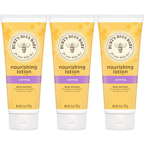 Burt'S Bees Baby Nourishing Lotion, Calming Baby Lotion,6 Ounce