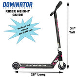 Dominator Bomber Pro Scooter (Black/Pink)