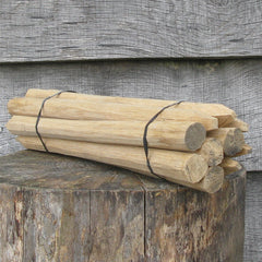 Hand Tapered Oak Pegs