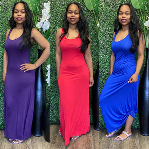 Chill Bae Maxi - Blue