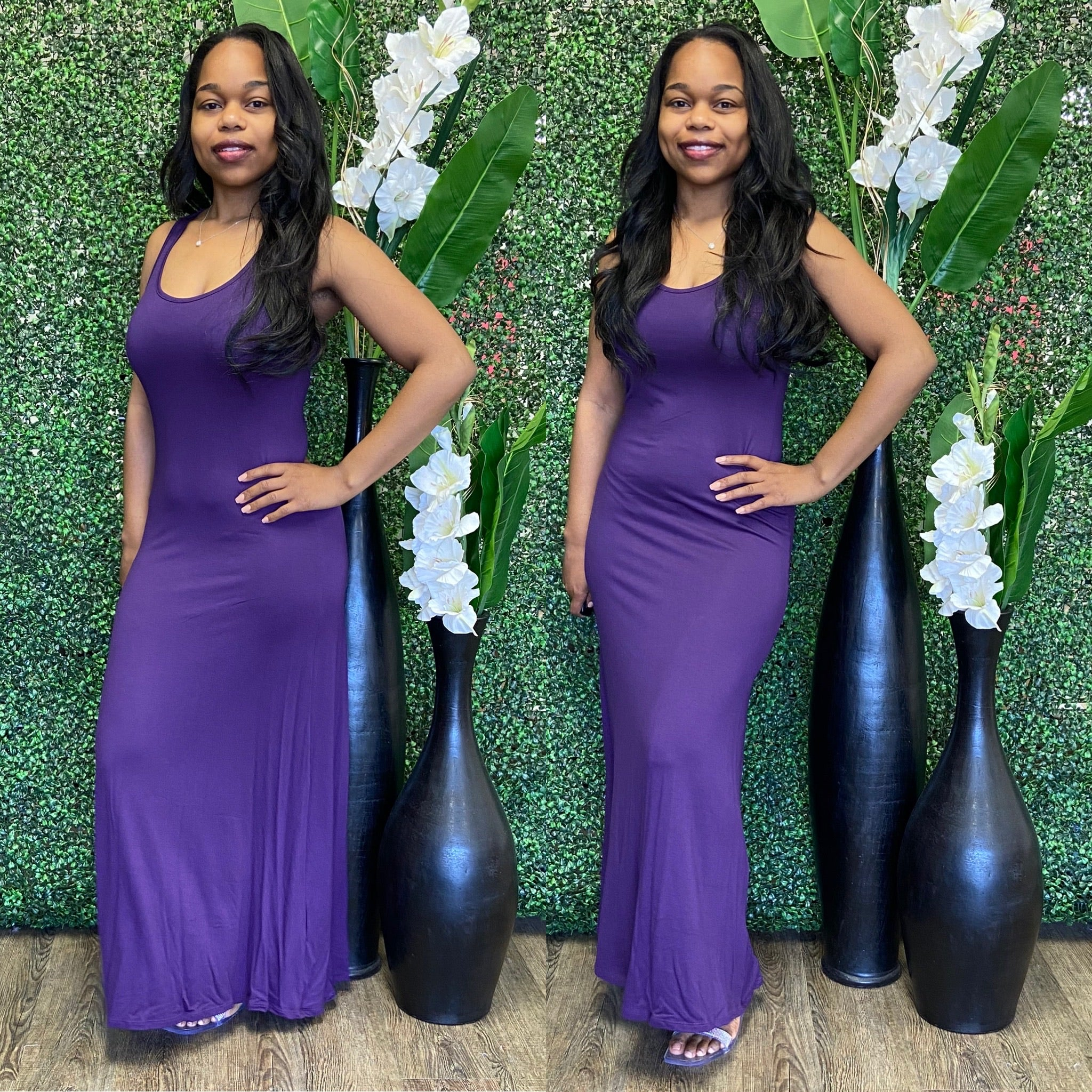 Chill Bae Maxi - Purple